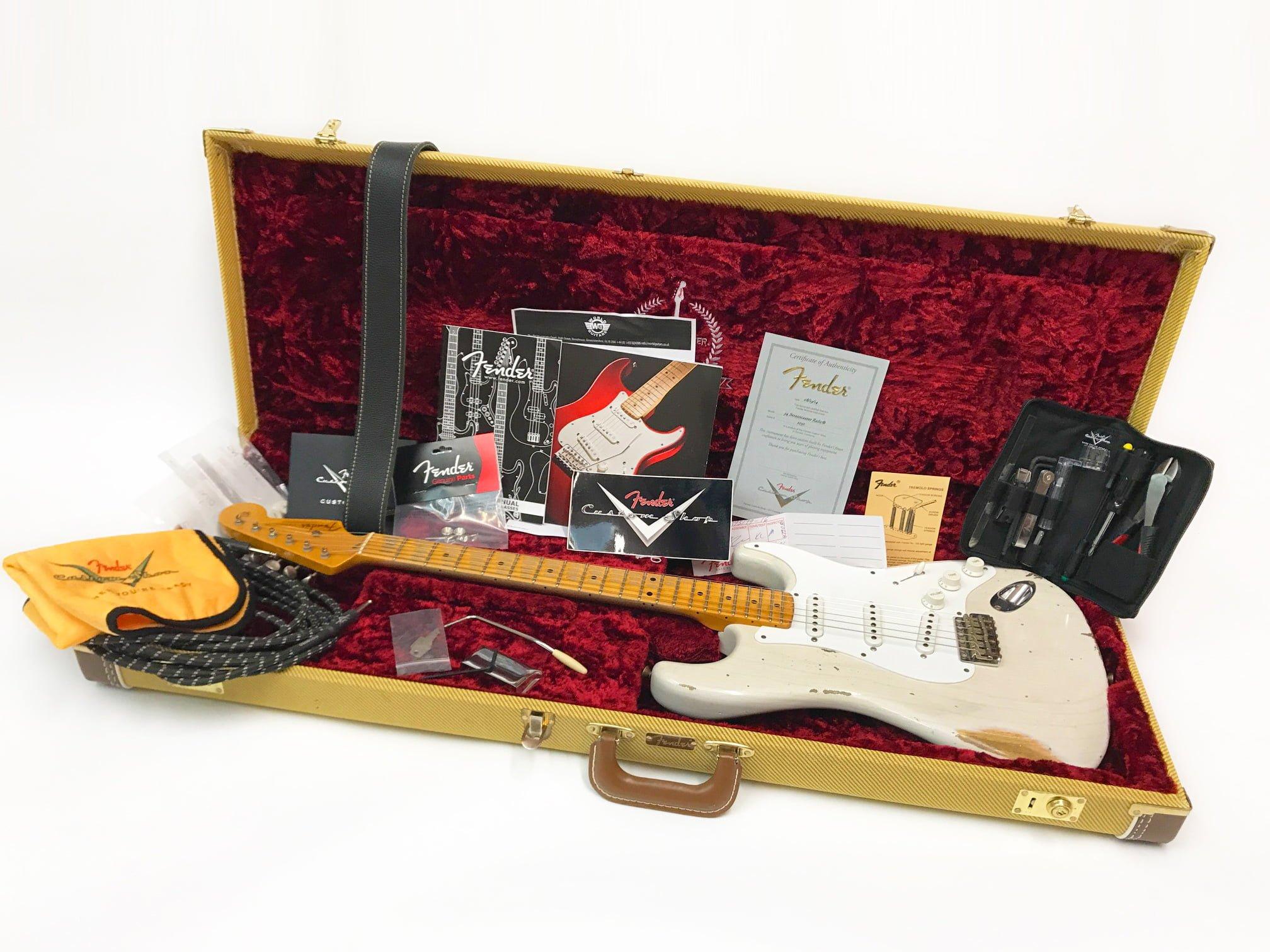 Fender 1954 Relic 60th Anniversay Stratocaster