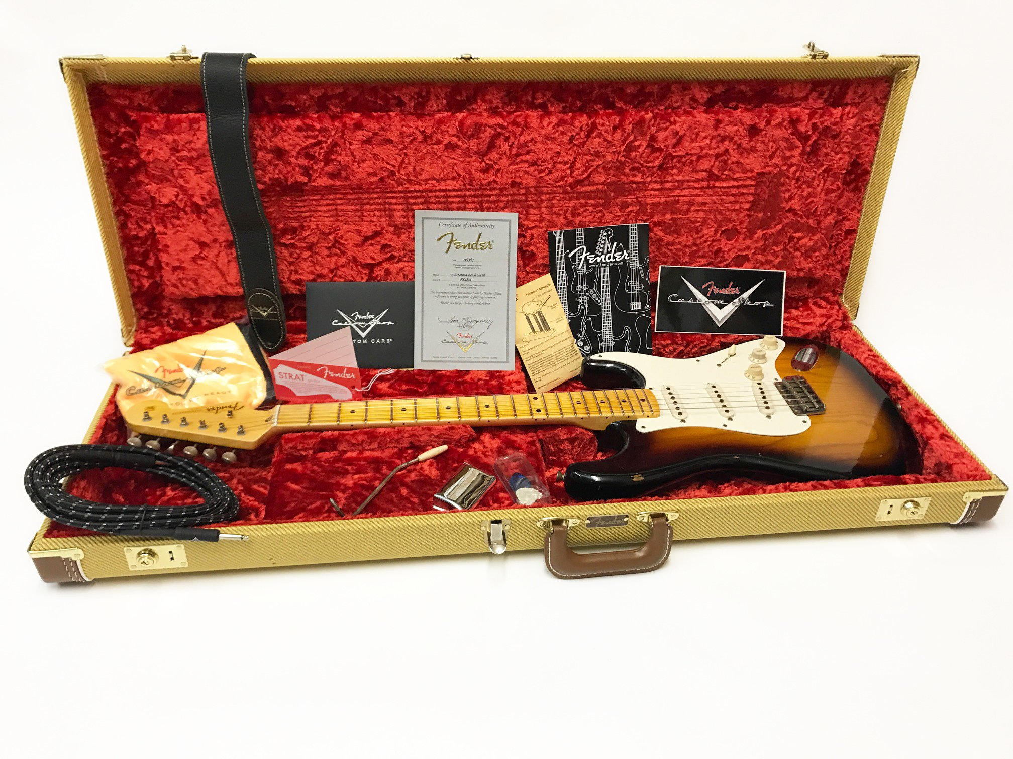 Fender 57 relic strat John Cruz Tone machine