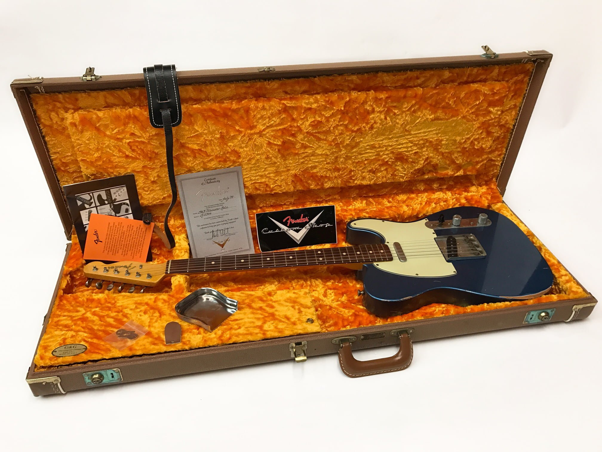 Fender Telecaster 1999 Custom shop 63
