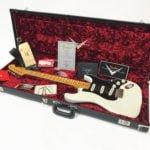 Fender Ancho Poblano Stratocaster - White Pre Owned