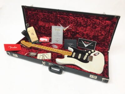 Fender Ancho Poblano Stratocaster - White Pre Owned